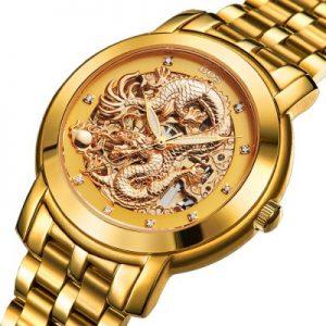 Dragon Decoration Male Automatic Mechanical Watch