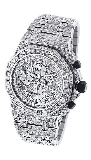 Audemars Piguet Mens Diamond Watch