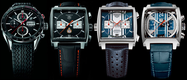 Tag Heuer 4 new models in honor of Formula 1 Monaco Grand Prix