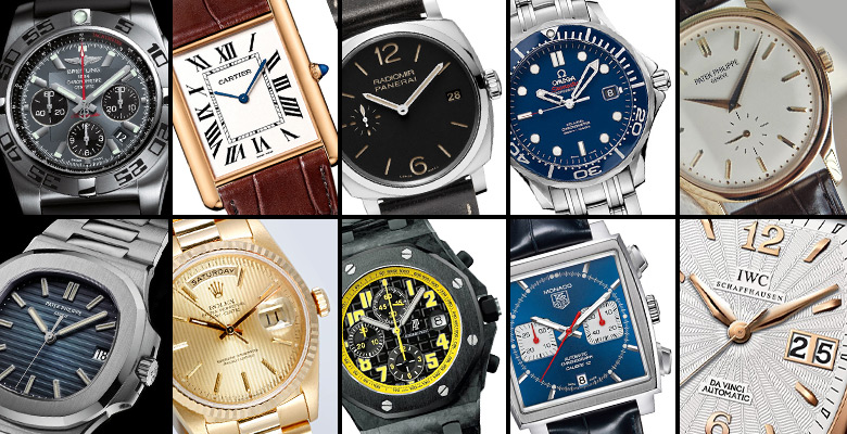 Ten essential luxury timepieces